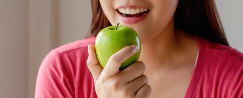 dientes saludables desayuno